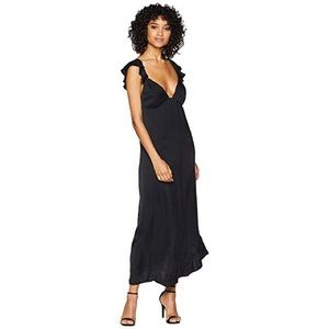 NWT 7 for all mankind dress black size small